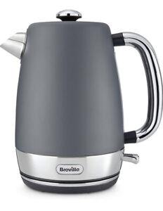 Breville Strata Electric Kettle, 1.7 Litre, 3 KW Fast Boil, Matt Grey New