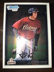 Details About Lot Of 10 J D Martinez Red Sox 2010 1st Bowman Chrome Bcp165 Rookie Card Rc