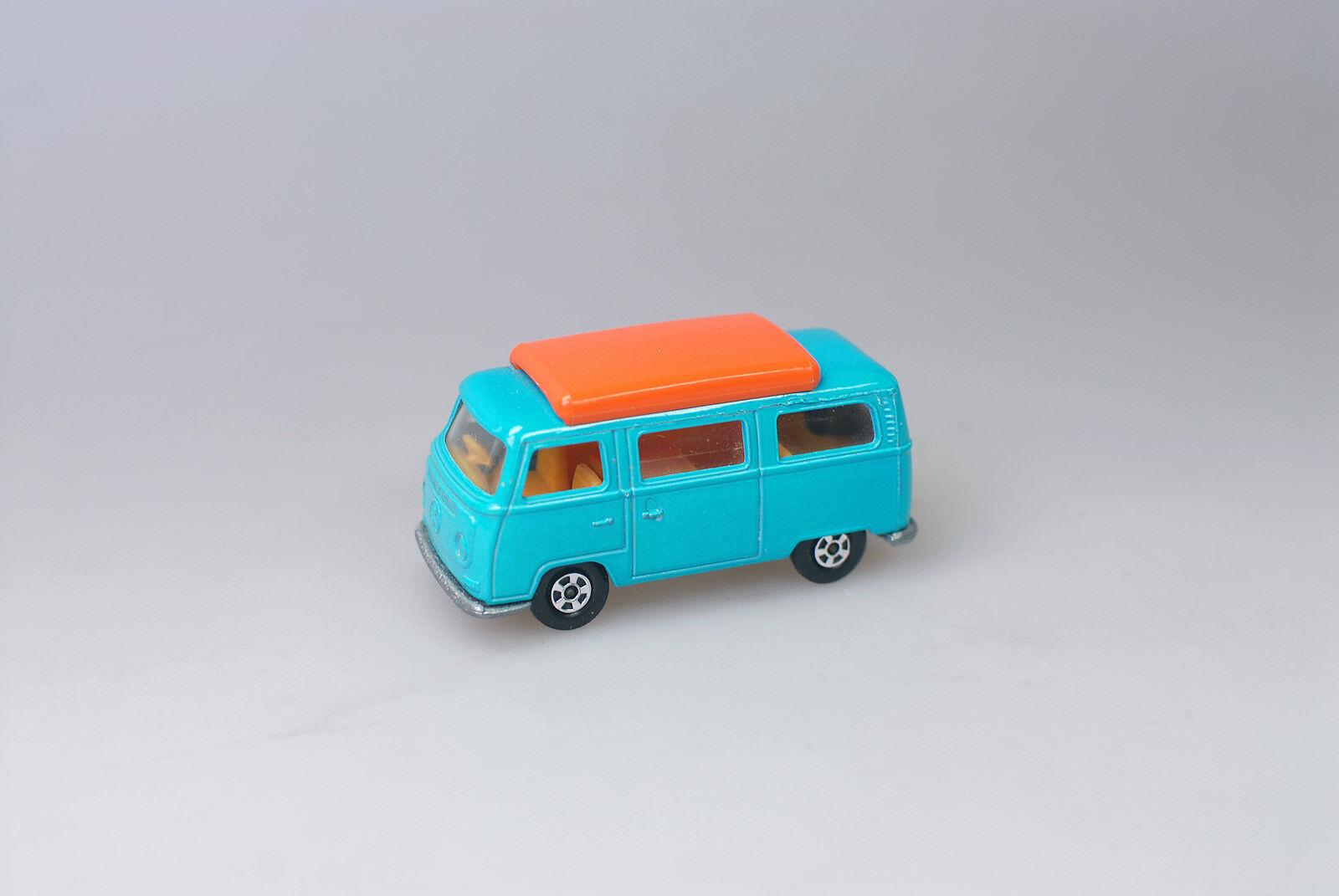 MATCHBOX VW Camper, couleur turquoise - 1970 ans il -