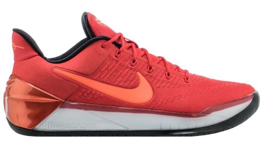 Nike Mens Kobe A.D. Size 11.5 University Red Black 852425-608