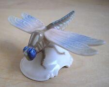 Vintage Small Rosenthal Dragonfly Porcelain Figurine Germany Handgemalt