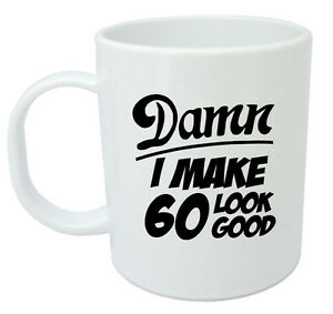 Image Is Loading Damn 60 Mug 60th Birthday Gifts Presents Gift