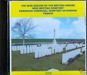 WAR-GRAVES-OF-BRIE-amp-ENNEMAIN-FRANCE-CD-ROM