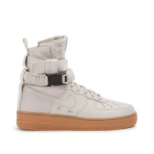 a0b35c12f253 Wmns Nike W SF AF1 UK 7 EUR 41 Light Bone New 857872 004