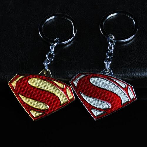 DC Comics Superhero Superman Logo Alloy Key Chains Keychain Keyfob Keyring