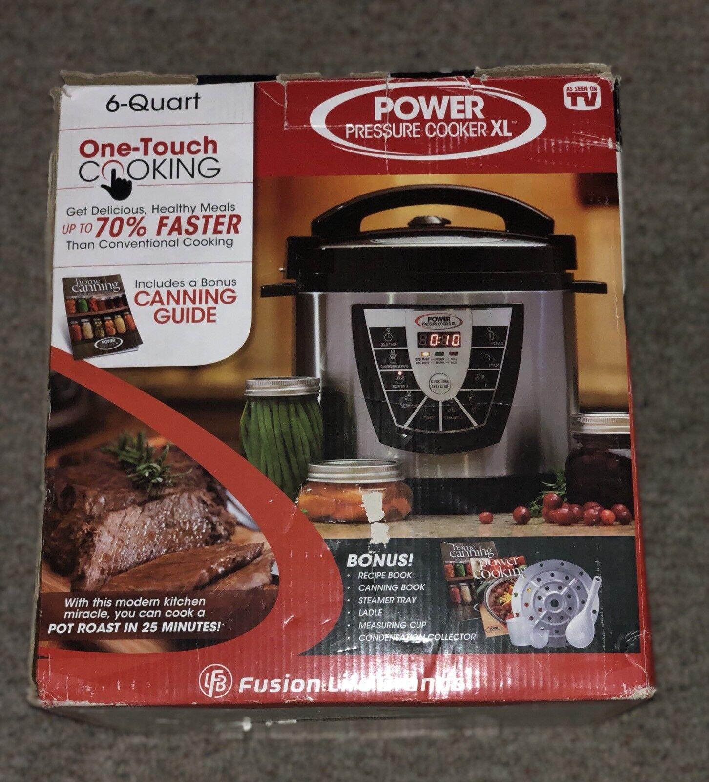 Power Pressure Slow Cooker XL- 6 QT