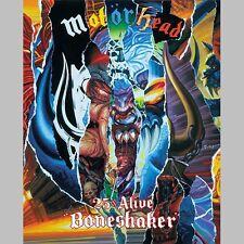 "MOTÖRHEAD ""25 + ALIVE BONESHAKER"" DVD NEU!!"