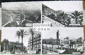 Algeria-Souvenir-D-039-Oran-La-Gare-La-Promenade-Letang-etc-unposted