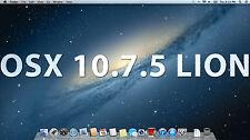 "120GB HARD DRIVE PRE-LOADED OSX 10.7.5 Lion 2.5"" SATA HD for APPLE Macbook / Pro"