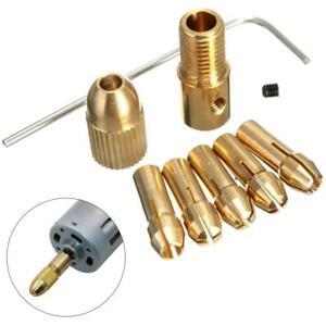 8Pcs-0-5-3mm-Electric-Drill-Bit-Collet-Mini-Twist-Drill-Tool-Chuck-Set-Golden-BE