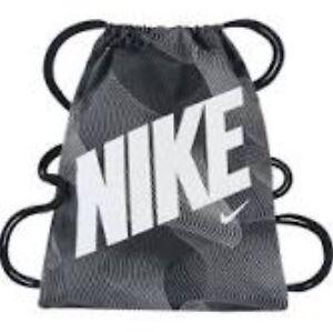 c1b5e62f7b4e Image is loading Nike-Sport-Bag-Gymsack-Heritage-Black-White-BA5120-