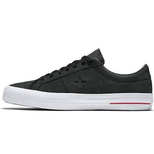 Converse Unisex One Star Pro Ox (10.5 Black / Red Shoes (10.5 Ox Men /12.5 Women) c26e11