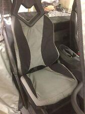 Can Am Commander UTV Seat Covers Set of 2 Black & Grey Custom Made