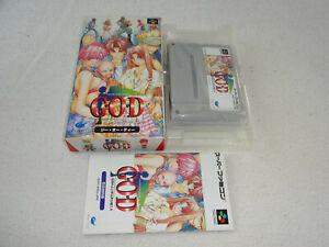 Details about GOD G O D  SNES Super Famicom game Japanese SHVC-AGDJ-JPN