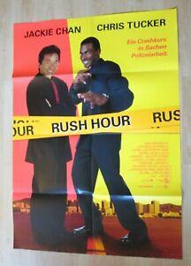 Filmplakat : Rush Hour ( Jackie Chan , Chris Tucker ) - Braunschweig, Deutschland - Filmplakat : Rush Hour ( Jackie Chan , Chris Tucker ) - Braunschweig, Deutschland