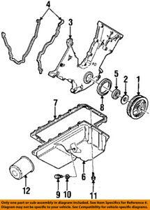 lincoln ford oem 93 98 mark viii 4 6l v8 engine oil pan bolt ford 4.6l engine wiring diagram image is loading lincoln ford oem 93 98 mark viii 4