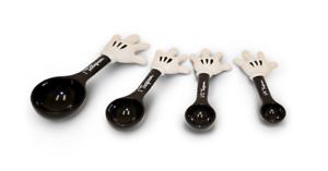 Disney Park Mickey Mouse Plastic Black Measuring Spoons NEW