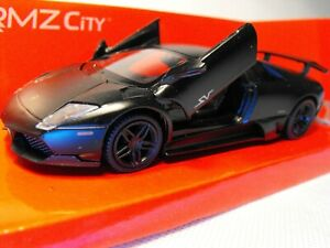 Modelo-Lamborghini-Murcielago-Escala-1-43-Negro-Die-Cast-COCHE-LAMBO-exhiben-Regalo