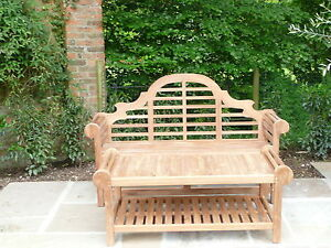 Image Is Loading QUALITY HUMBER TEAK 1 67 METRE LUTYENS BENCH