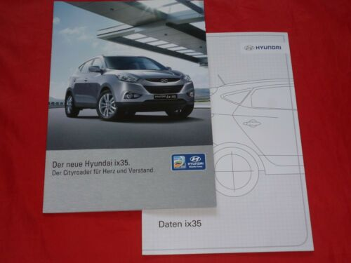 Hyundai ix35 Comfort Style Premium prospectus liste de prix de 2010