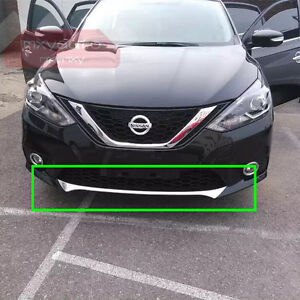Image Is Loading New Chrome Lower Grille Trim For Nissan Sentra