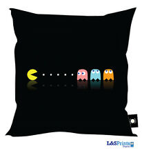 """NEW PACMAN COMPUTER GAME DESIGN CUSHION GREAT GIFT IDEA 18"""" X 18"""""""