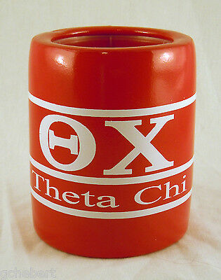 Theta Chi, ΘΧ, Greek Letter/Name Kool Kan Koozie NEW