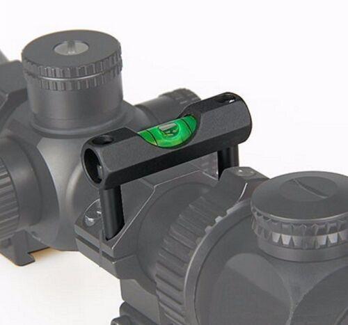 Alloy Anti Cant 30mm Sight Rail Bubble Spirit Level for Airgun Rifle Scope