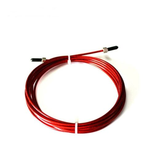 Replaceable Wire For Speed Jump Ropes Black,Red Skipping Cable Rope Boxing Gym
