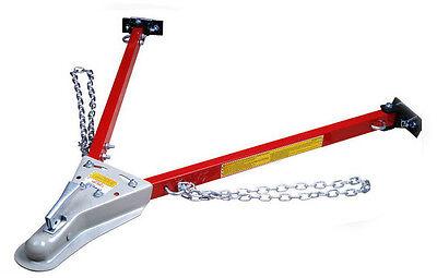 5000 Lbs Adjustable Tow Bar Towbar Auto Truck Hauling Towing Chain Trucks New HD