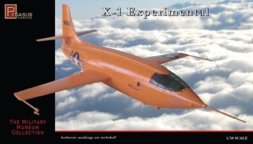 X-1 Experimental Flugzeug Modell Set 1//18 Maßstab Vergriffen 18SPH03
