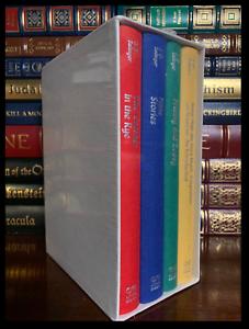 J.D. Salinger Gift Boxed Set Sealed Cloth Bound Hardcovers ...