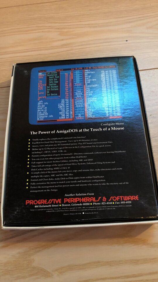 DiskMaster, Amiga program