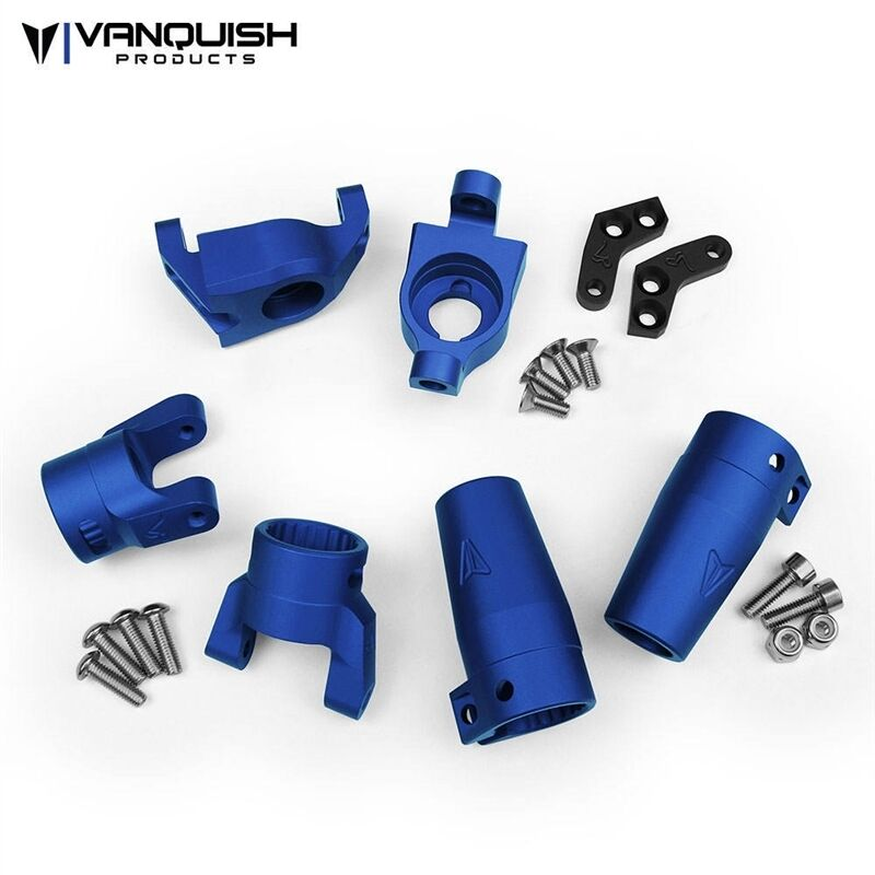 Vanquish Products Axial Wraith Stage One Kit bluee Anodized VPS06512