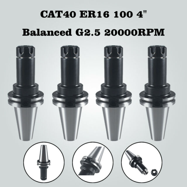 CAT40-ER16 COLLET CHUCK-8 CHUCKS//set US free shipping Tool Holder Set NEW HP