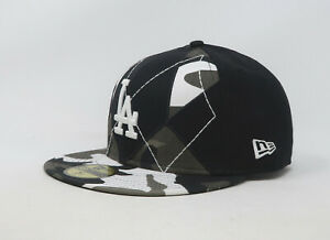 new arrival 927d1 7ad28 Image is loading New-Era-59Fifty-Hat-Mens-MLB-Los-Angeles-