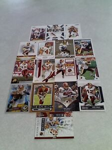 Chris-Cooley-Lot-of-85-cards-44-DIFFERENT-Football