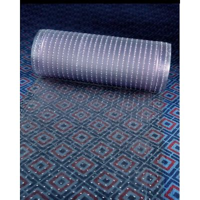 Clear Plastic Runner Rug and Carpet Protector Mat Multi-Grip.