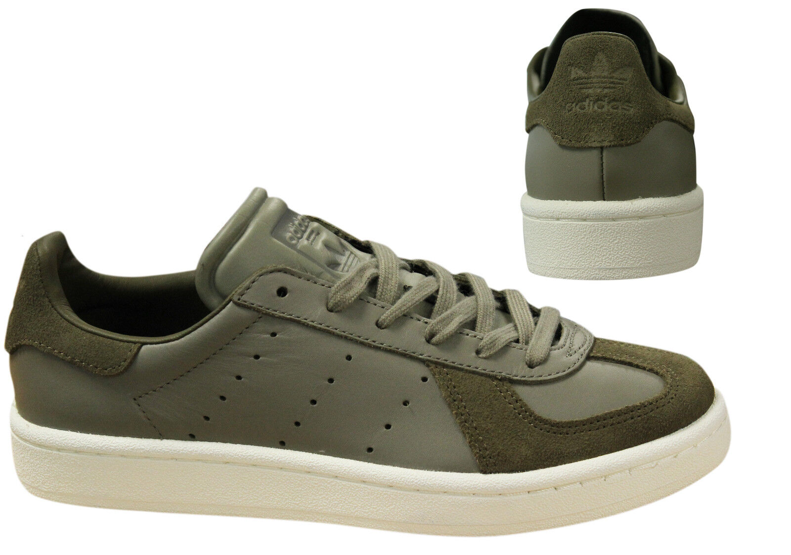Adidas Originals BW Avenue Mens Womens Trainers Lace Up shoes Khaki BZ0508 D3