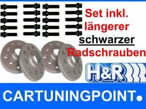 Radschrauben SI H/&R Spurverbreiterung Suzuki Swift Sport Typ NZ 30mm