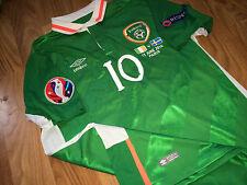 Keane Ireland match worn issued shirt Euro 2016 vs Sweden Spurs LA Galaxy jersey