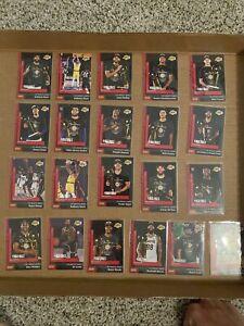 2019-20 Panini Instant Los Angeles Lakers 21 Card Lot Anthony Davis Rajon Rondo