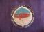 CENDRIER-GLACES-GERVAIS-VERRE-VINTAGE-RARE miniature 1