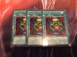 JAR OF GREED p YuGiOh Card mixed