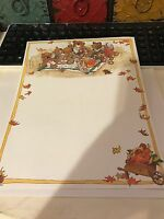 Suzys Zoo Fall Staionary & Envelopes