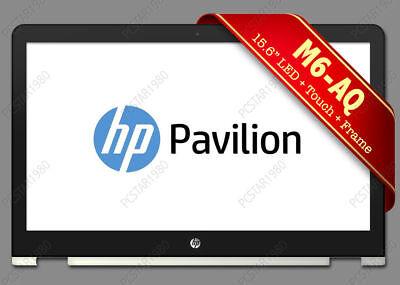 "HP Envy x360 M6-AQ103DX M6-AQ105dx 15.6/"" LED LCD Touch Screen Silver Frame FAST!"