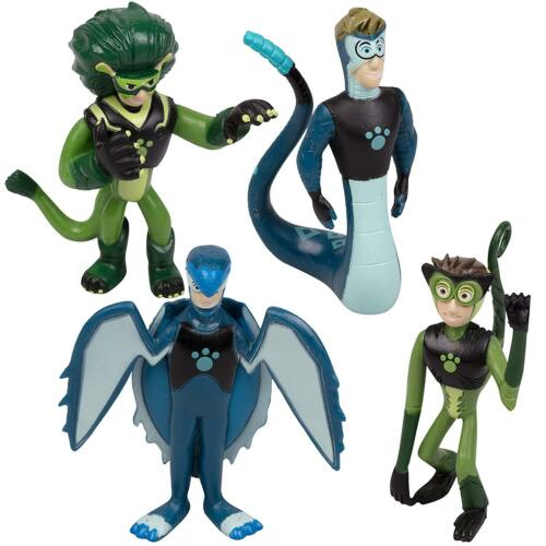 Figures And Discs Wild Kratts Toys 22 Piece Collector Action Figure Set