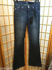 Rock & Republic Kasandra Flair Low Rise Jeans Blue Denim Size 25 Inseam 37
