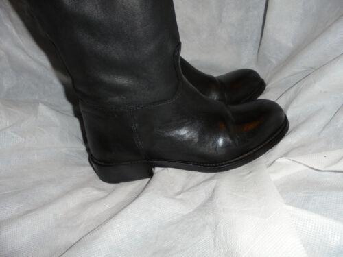 Scarponcino con donna nera alta zip 36 da Levi pelle S Uk equitazione in da Vgc Eu pwa8xqrp