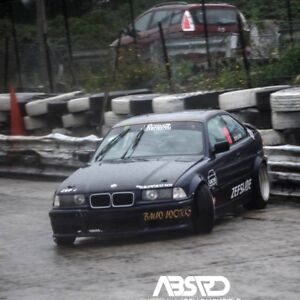 Details About Fender Flares Bmw E36 E46 Drift Edition Set Of Abs Wheel Arches Overfenders Wide